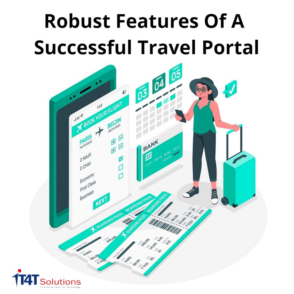 travel portal feature