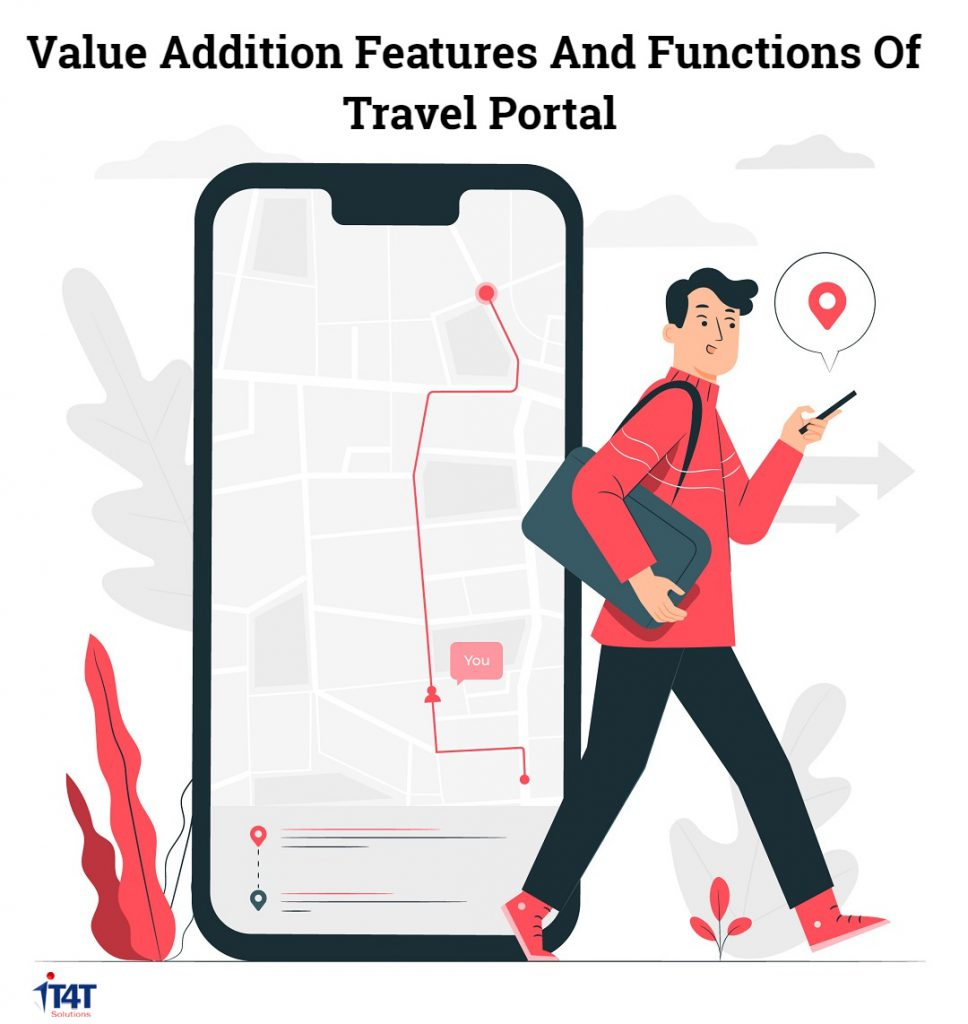 value addition features of travel portal